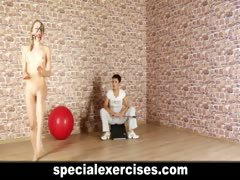 Naked discipline training...